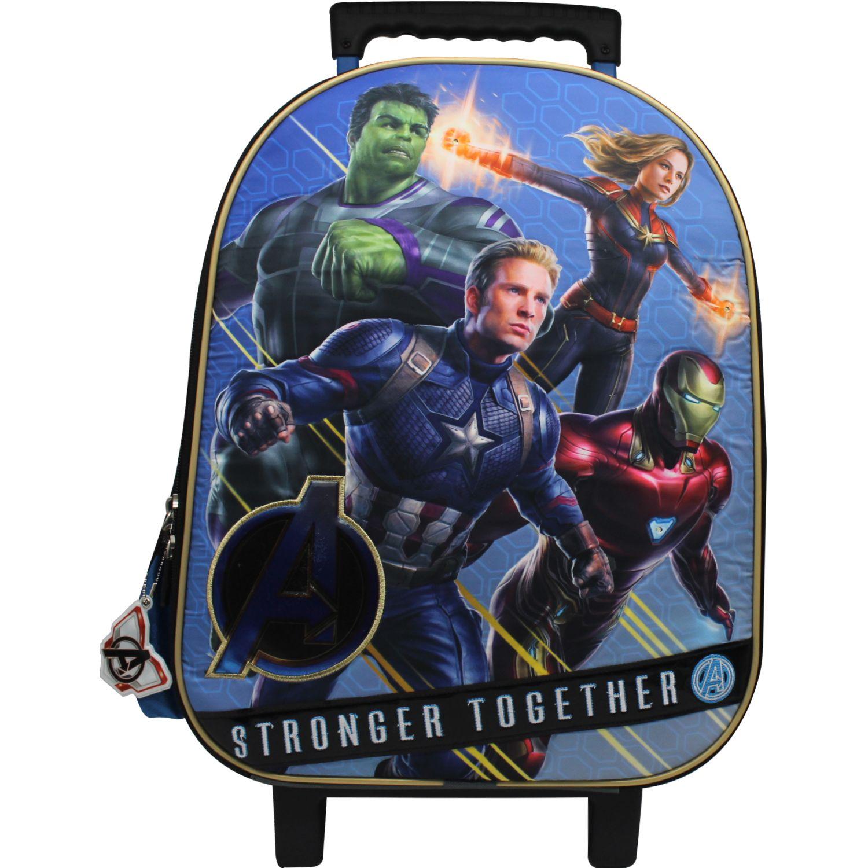 Avengers maleta con ruedas the avengers Gris / azul mochilas