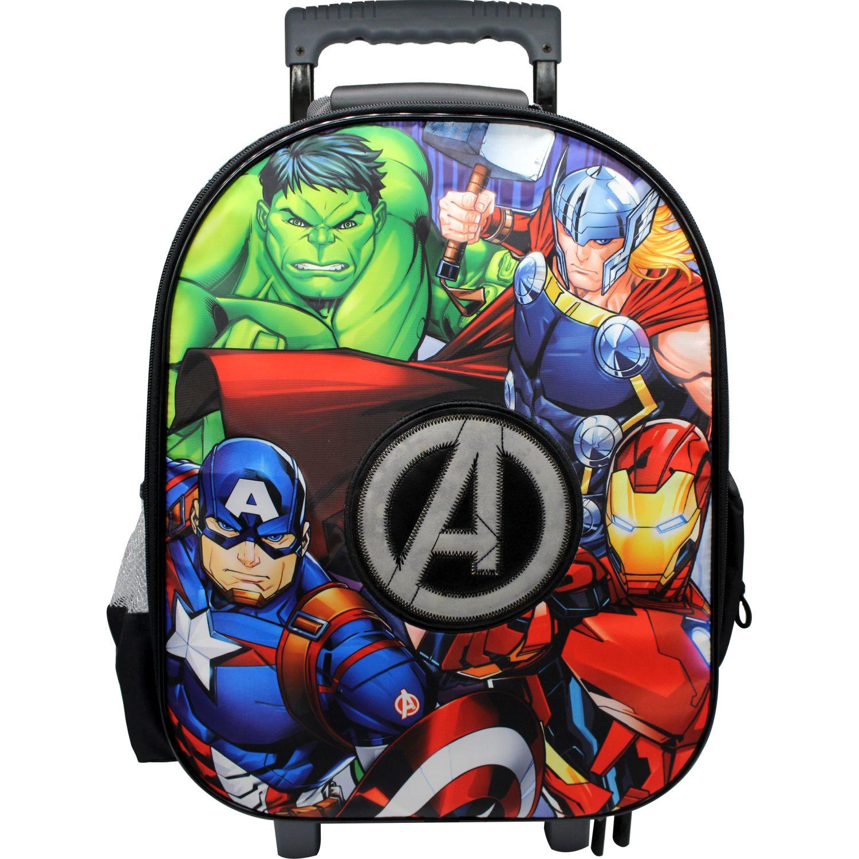 Avengers maleta con ruedas the avengers Gris / negro mochilas