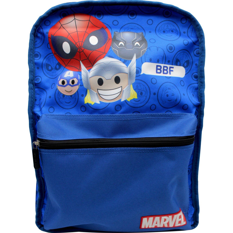 MARVEL EMOJI mochila reversible marvel emoji Azul / amarillo mochilas