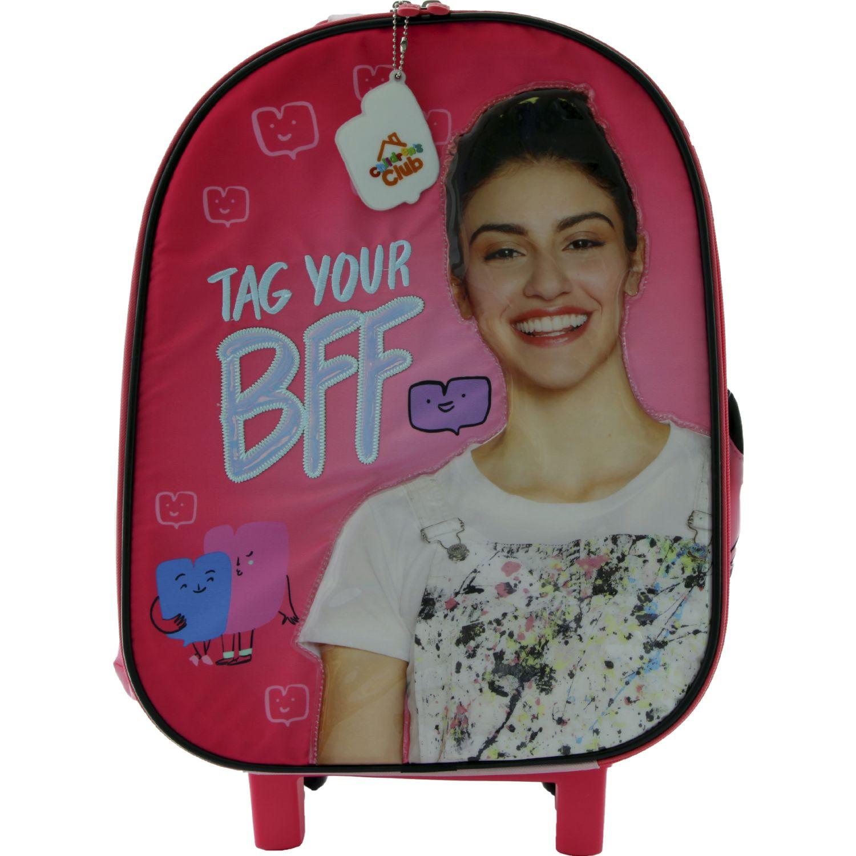 BIA maleta con ruedas bia Coral / negro mochilas