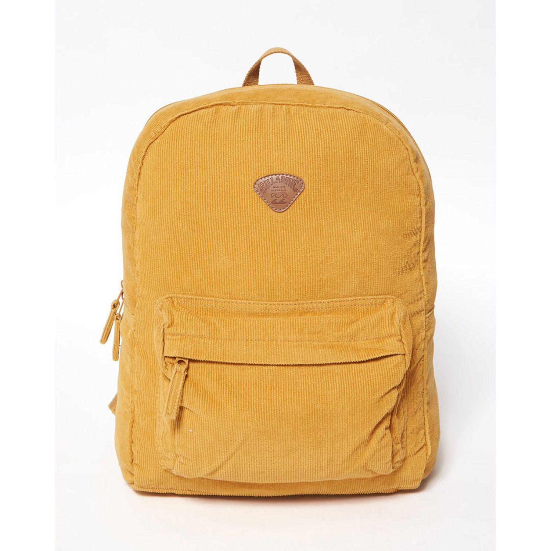 Billabong SCHOOLS OUT CORD Amarillo mochilas