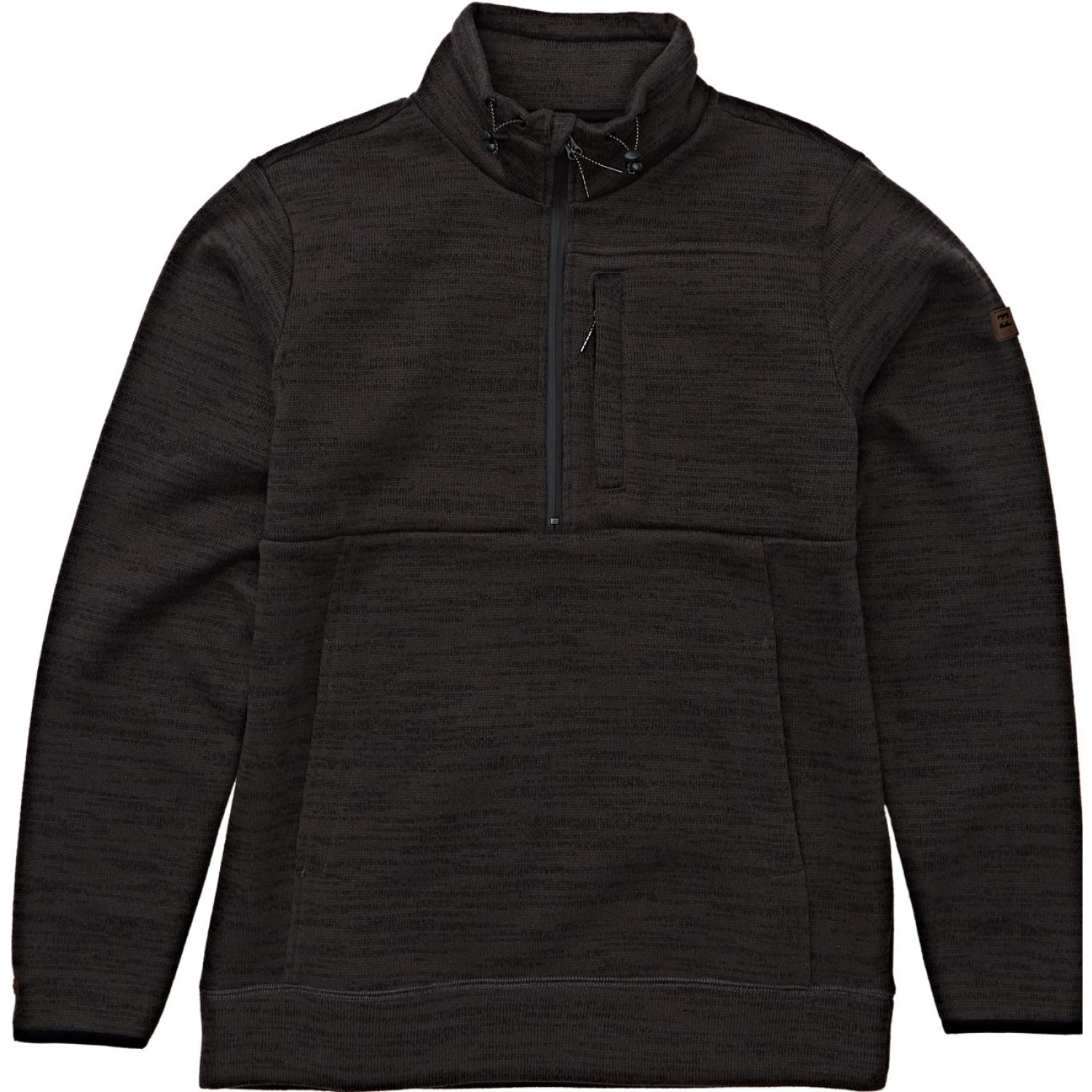Billabong BOUNDARY MOCK HALF Z Marron Hoodies y Sweaters Fashion