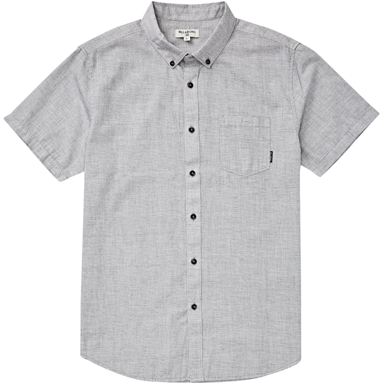 Billabong All Day Ss Gris Camisas de botones