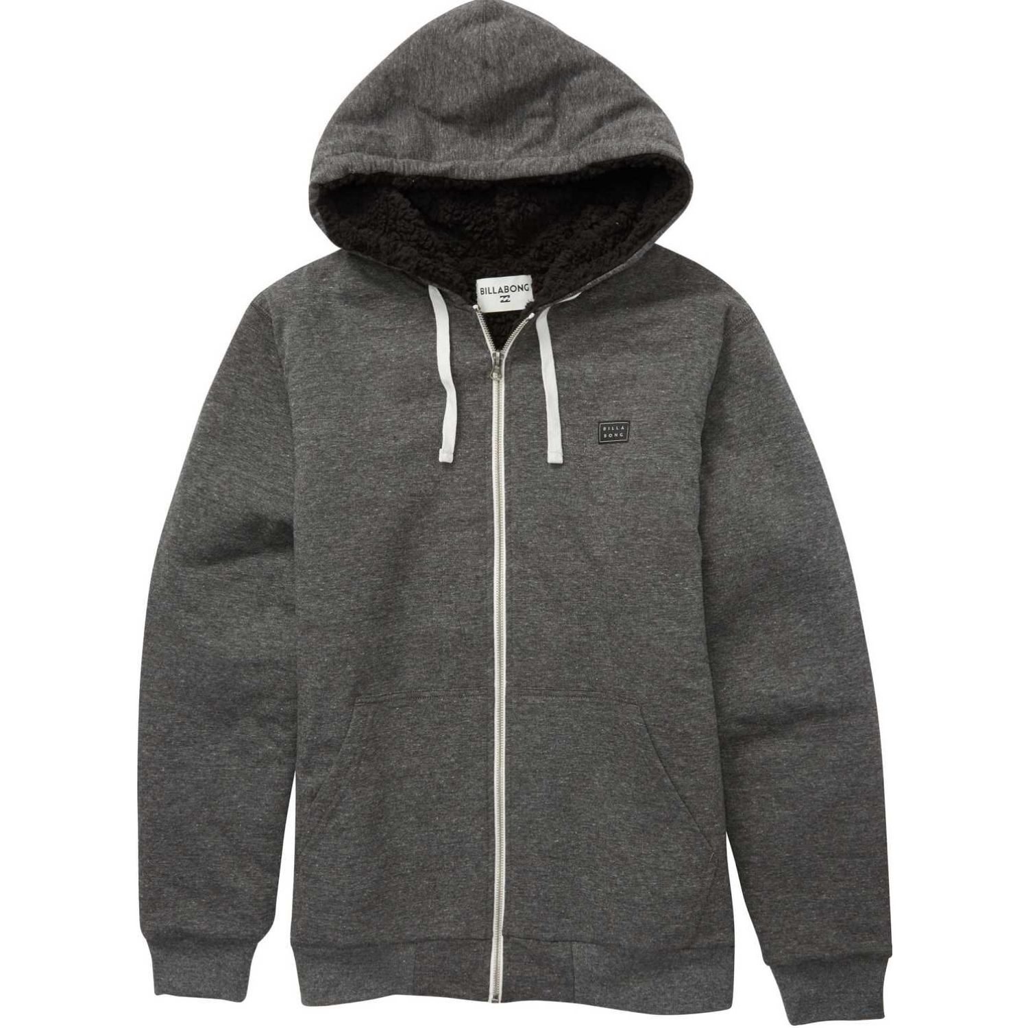 Billabong ALL DAY SHERPA ZI II Negro Hoodies y Sweaters Fashion