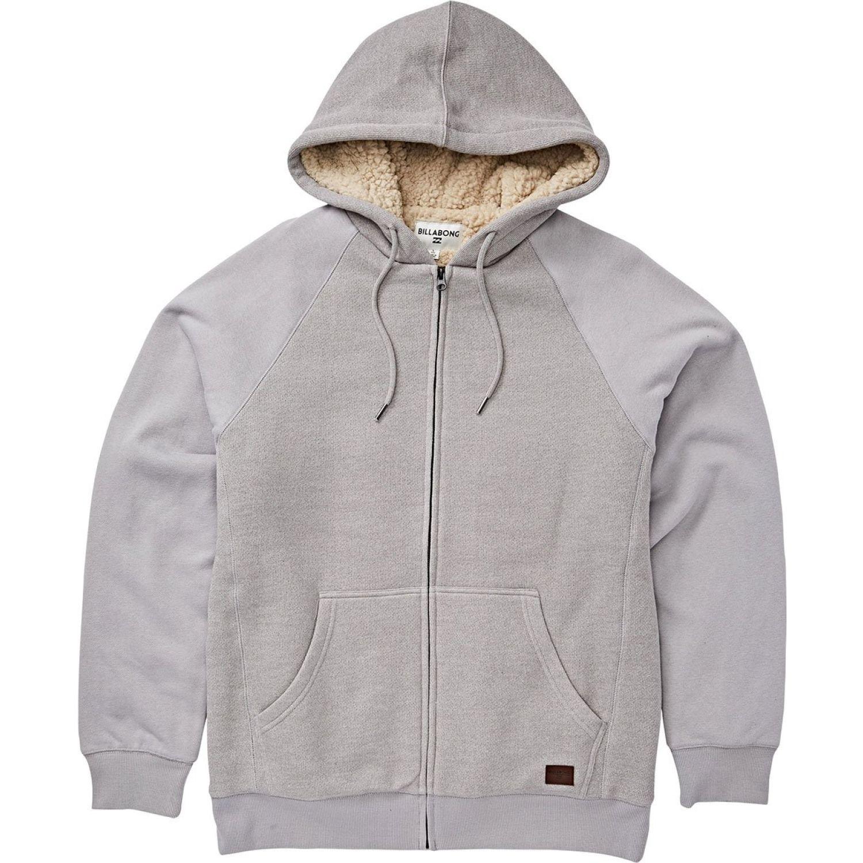 Billabong balance sherpa zip Gris Hoodies y Sweaters Fashion