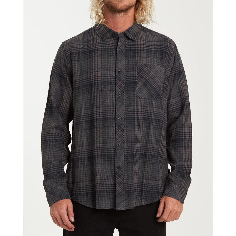 Billabong FREEMONT FLANNEL Navy Camisas de botones