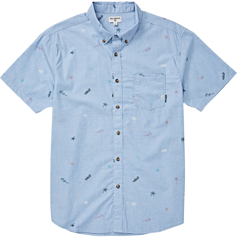 Billabong Sundays Mini Ss Celeste Camisas de botones