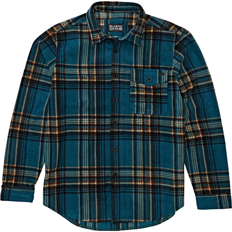 Billabong Furnace Flannel Verde Camisas de Botones