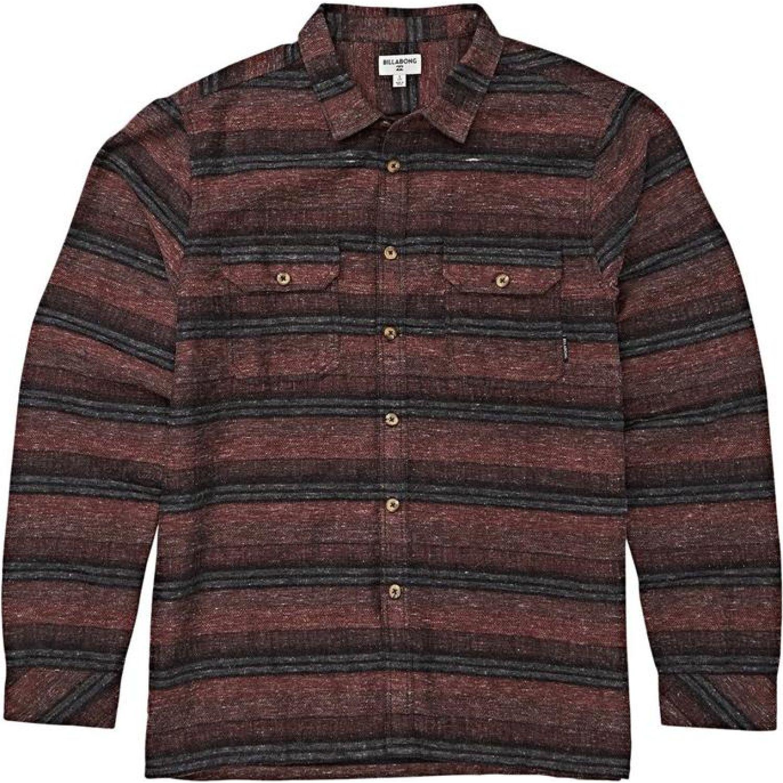 Billabong OFFSHORE LS Rojo / negro Camisas de botones