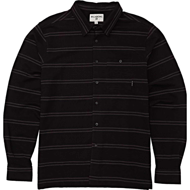 Billabong SWINDLER LS Negro / plomo Camisas de botones