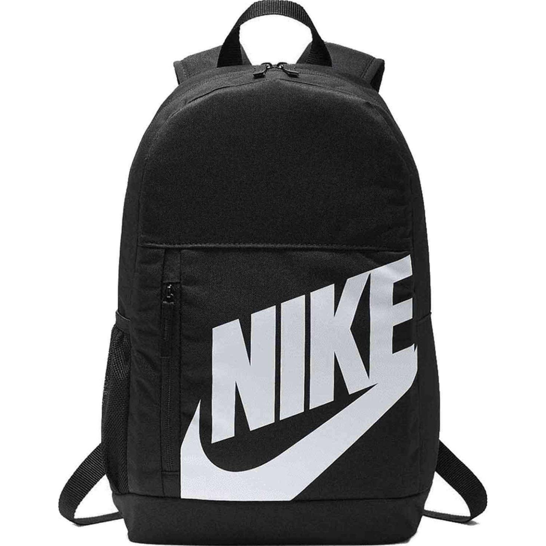 Nike y nk elmntl bkpk Negro / blanco Mochilas Multipropósitos