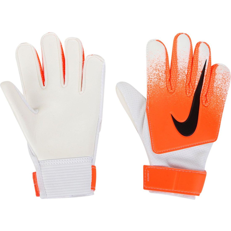 Nike m nk gk match Naranja / blanco Guantes
