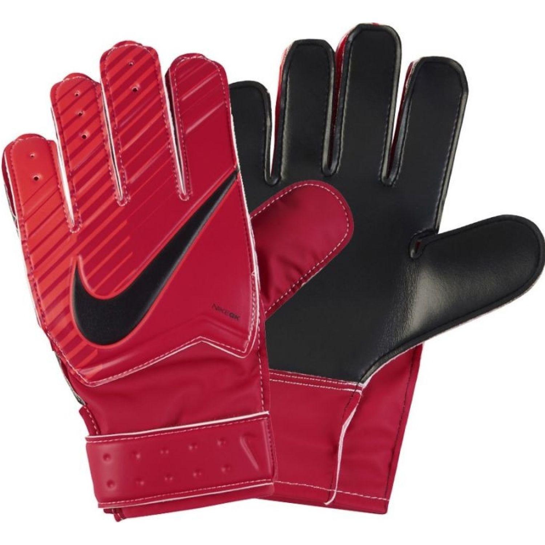 Nike nk gk jr mtch Rojo / negro Guantes de portero