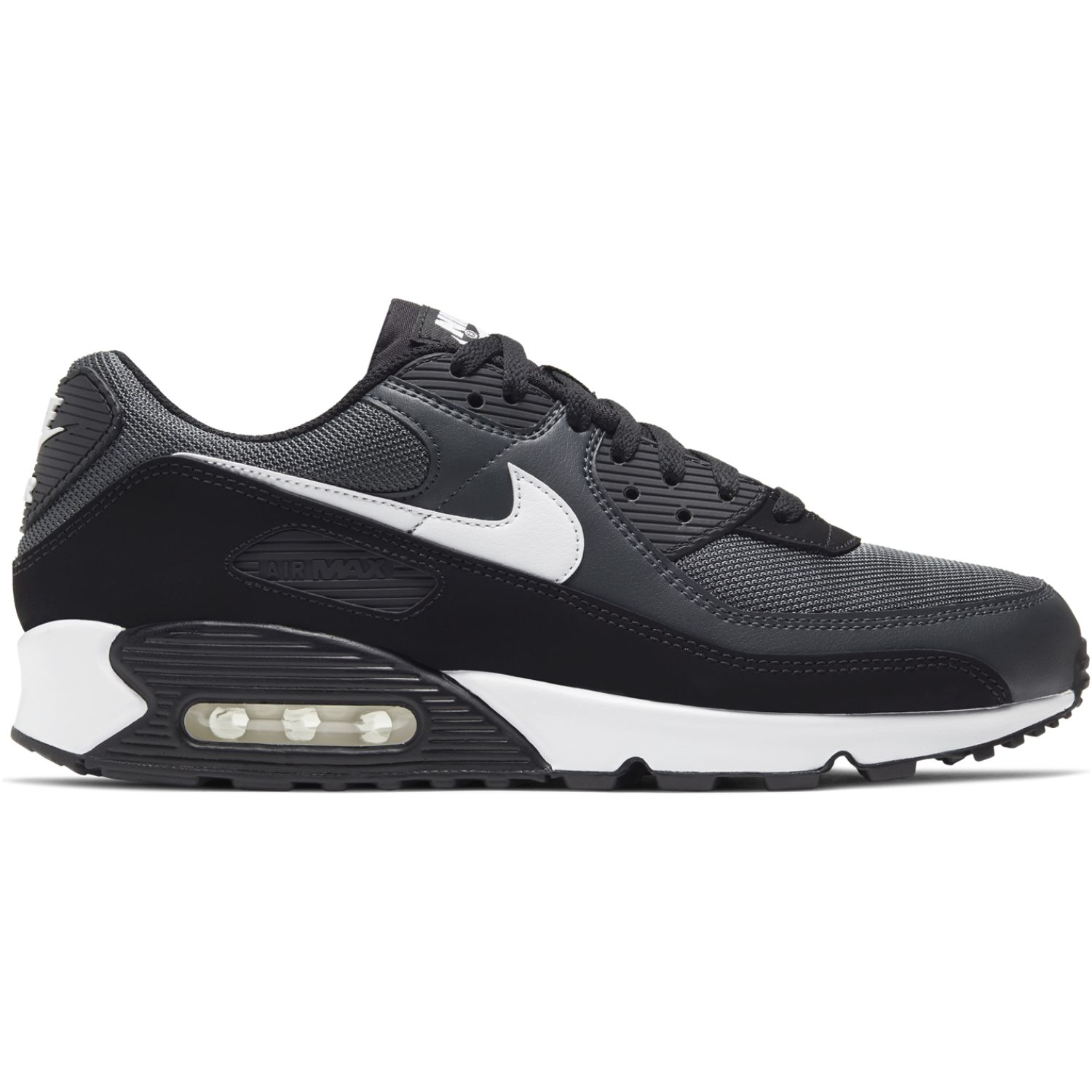 Apariencia metano Anual  Nike air max 90 365 Negro / blanco Walking | platanitos.com
