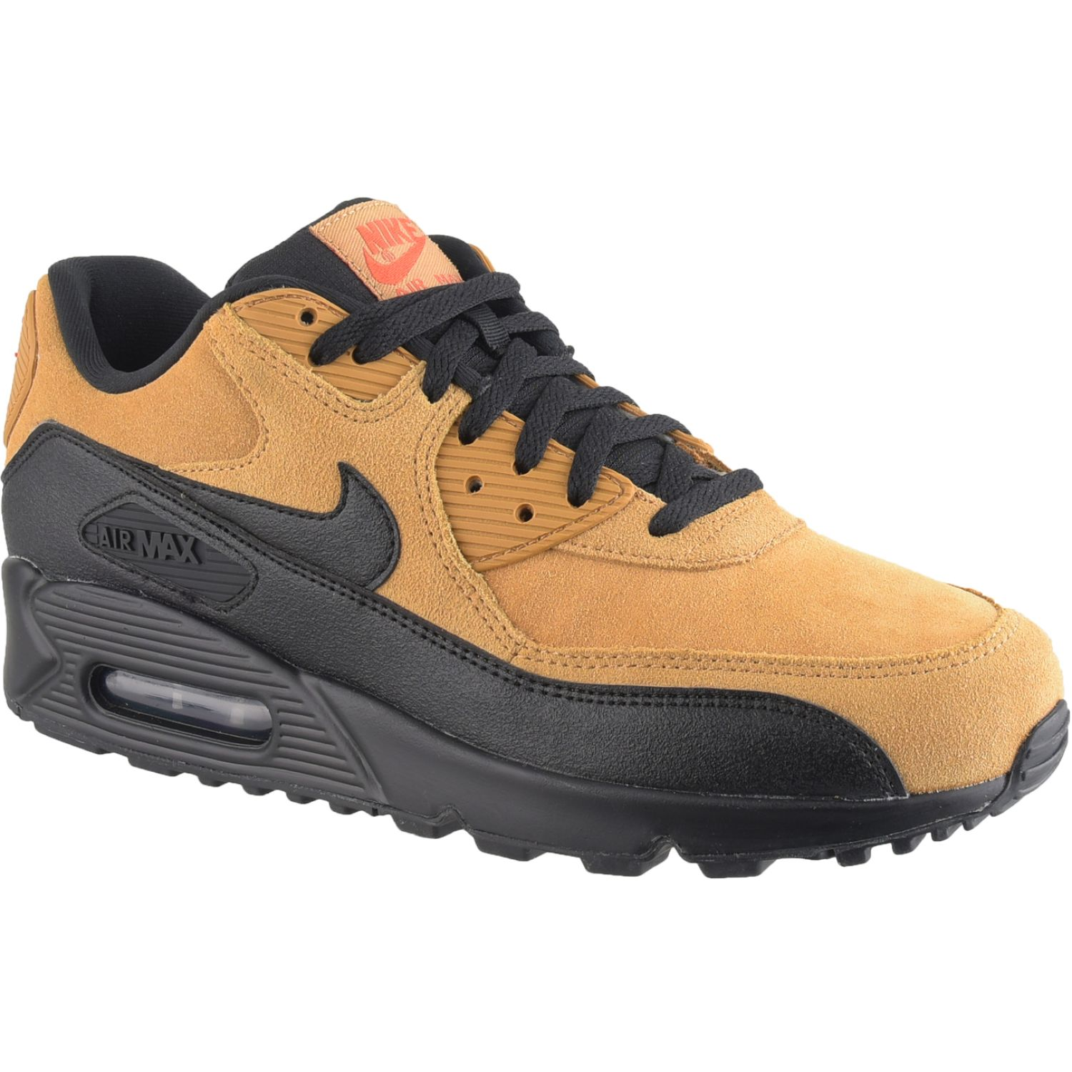 Nike NIKE AIR MAX 90 ESSENTIAL Mostaza / Negro Walking ...