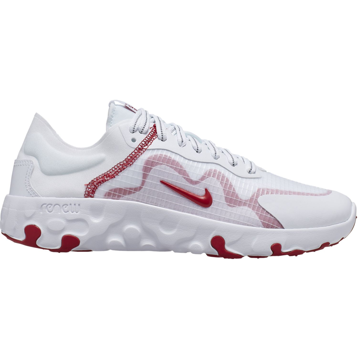 Nike wmns nike renew lucent Blanco / rojo Walking