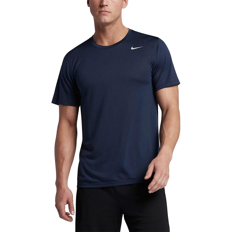 Nike m nk dry tee lgd 2.0 Navy Camisetas y Polos Deportivos