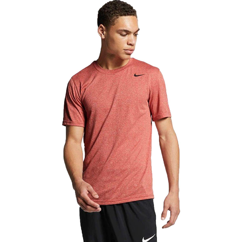 Nike m nk dry tee lgd 2.0 Naranja Camisetas y Polos Deportivos