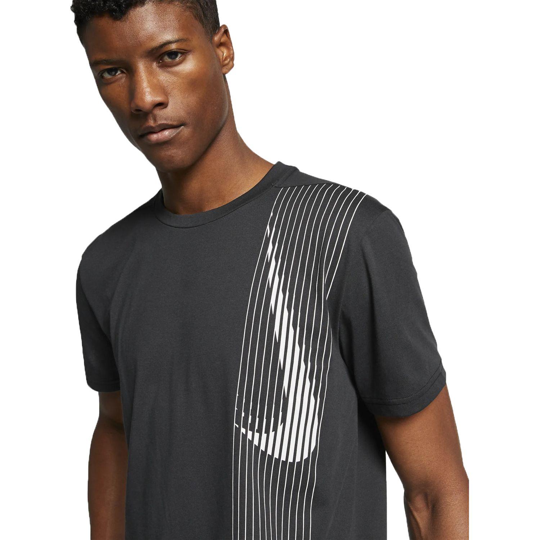 Nike m nk dry top ss lv Negro Camisetas y Polos Deportivos