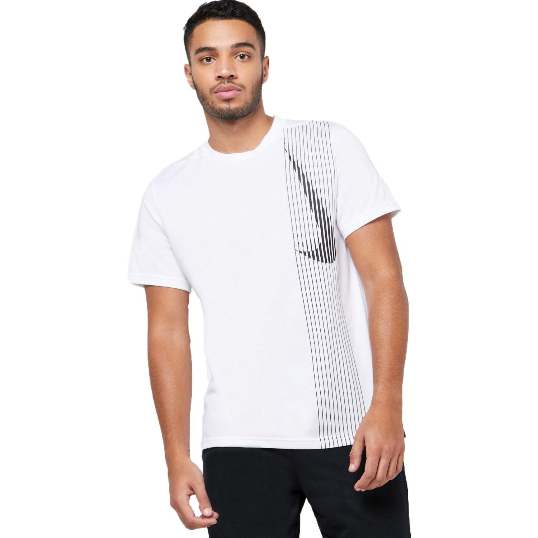 Nike m nk dry top ss lv Blanco Camisetas y Polos Deportivos