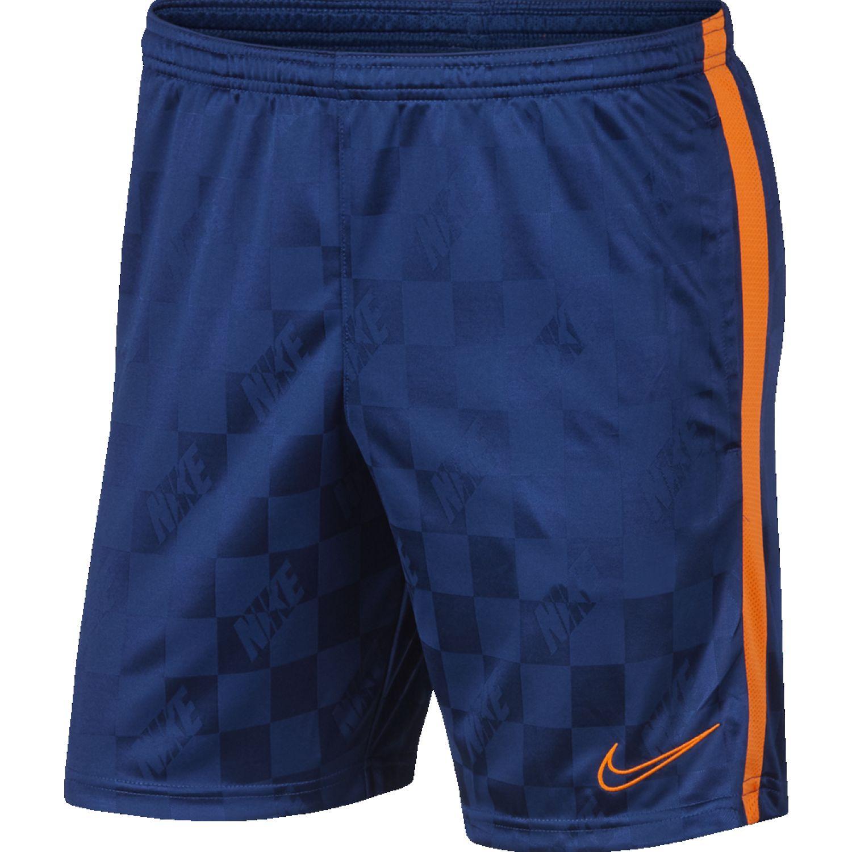 Nike M NK BRT ACDMY SHORT JAQ KP Azul Shorts Deportivos