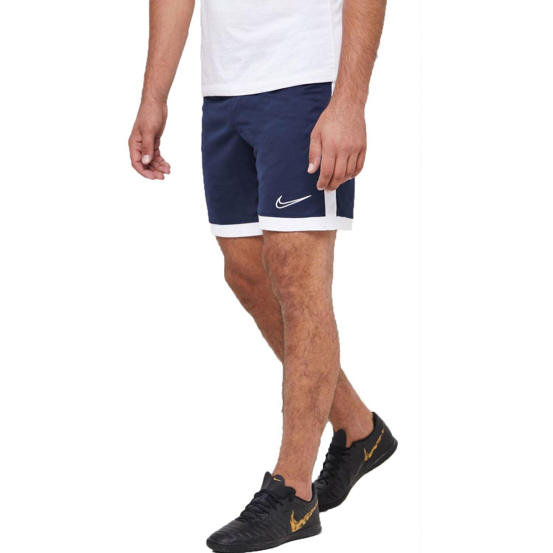 Nike m nk dry acdmy short k Navy / Blanco Shorts Deportivos