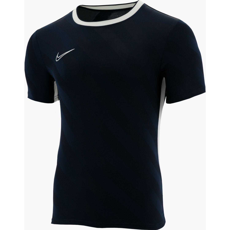 Nike m nk brt acdmy top ss aop Negro Camisetas y Polos Deportivos