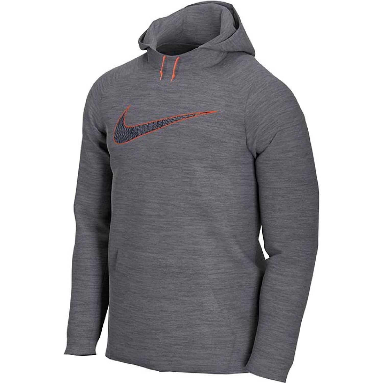 Nike m nk dry hd po gfx 1 Plomo Hoodies Deportivos