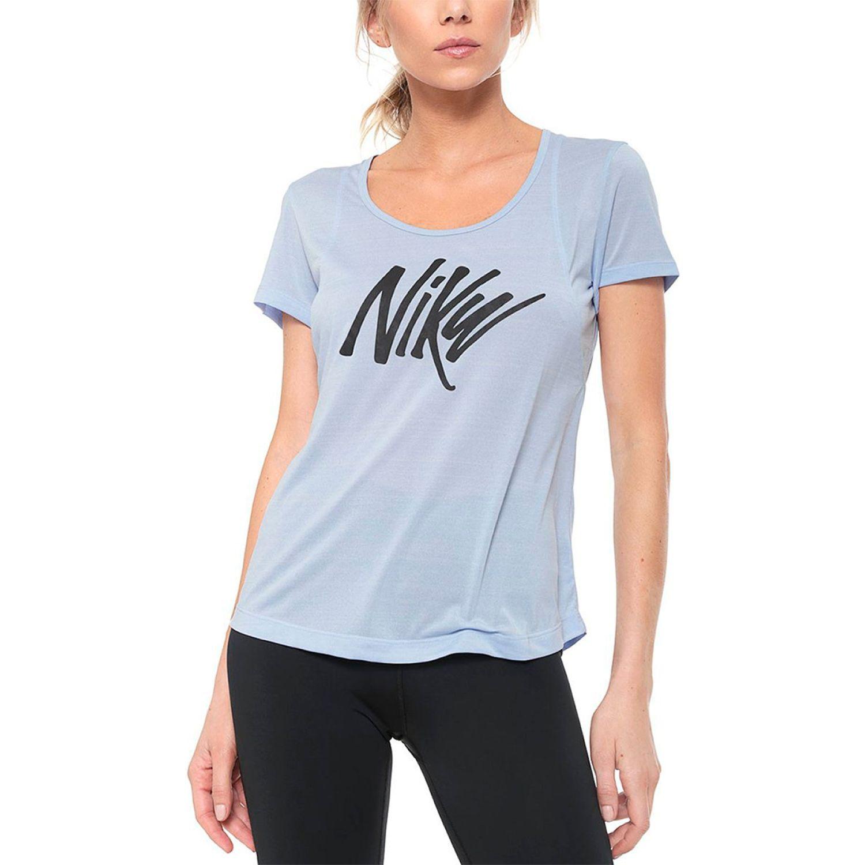 Nike Nk Top Ss 10 Celeste Polos