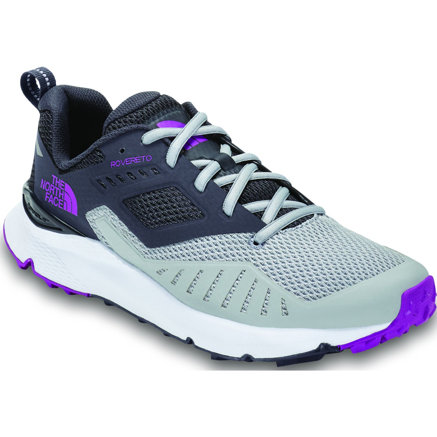 The North Face w rovereto Gris / morado Trail Running