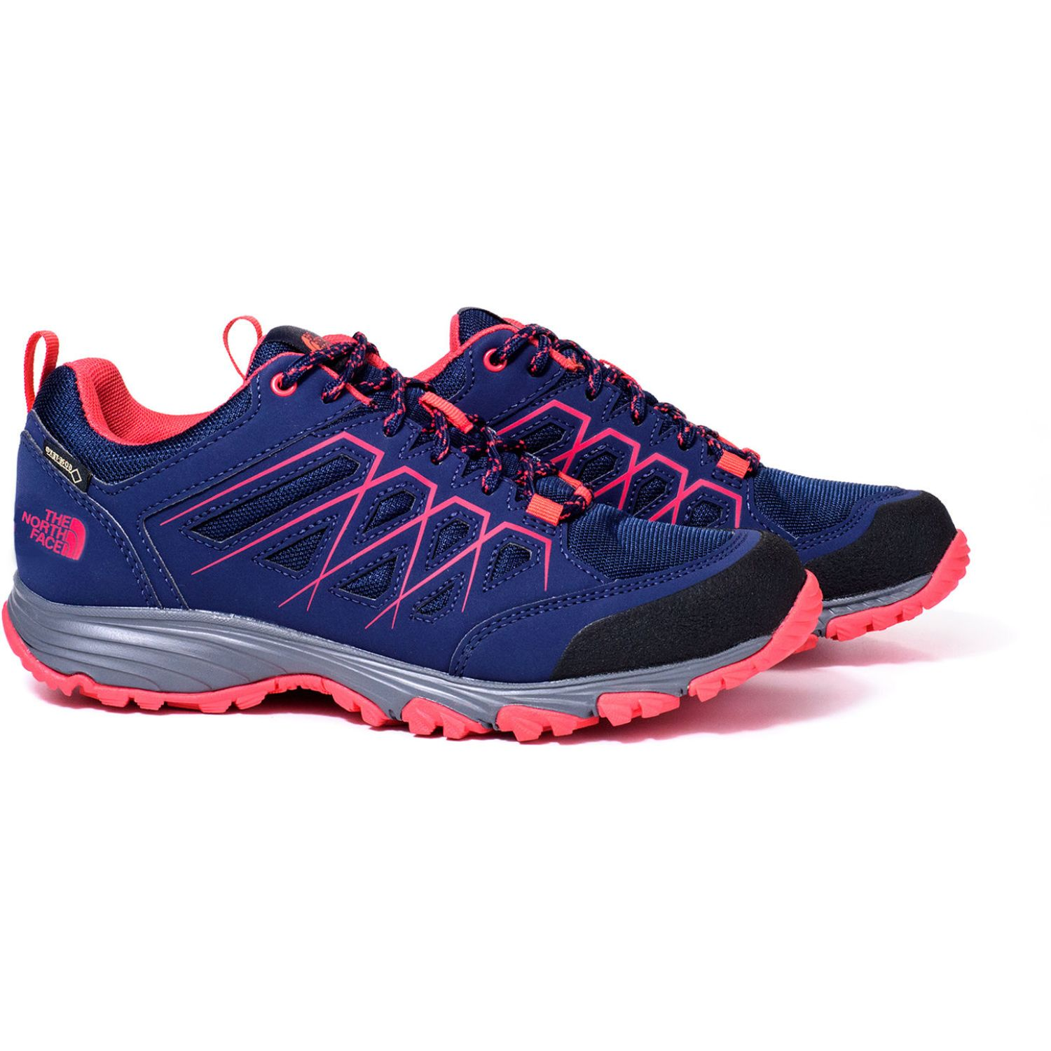 The North Face W Venture Fasthike G Azul / rosado Trail Running