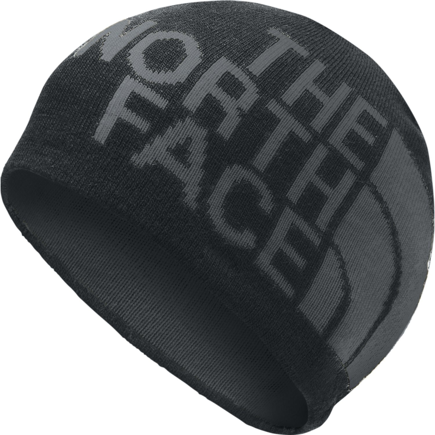 The North Face reversible tnf banner beanie Gris Chullos y Gorros