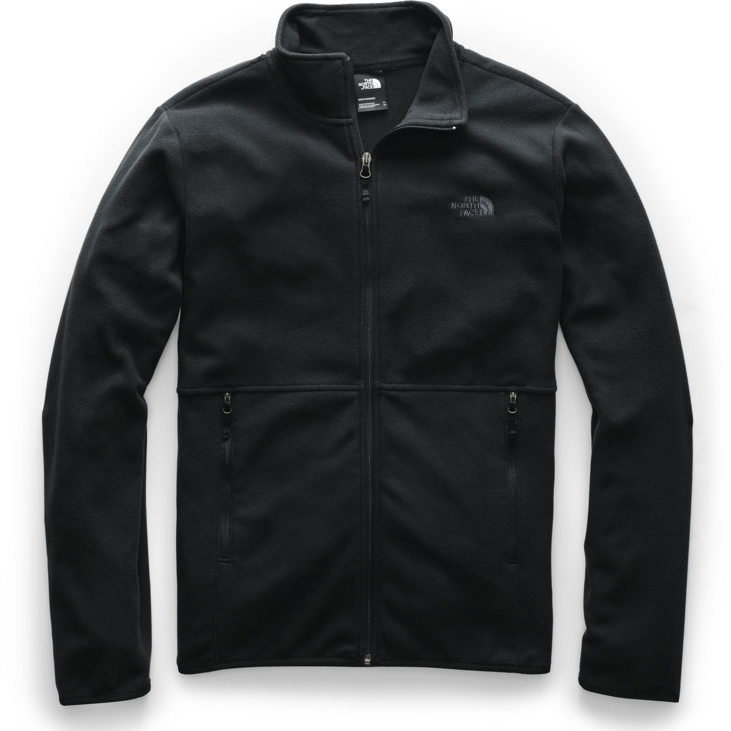 The North Face M TKA GLACIER FULL ZIP JACKET Negro Pullovers