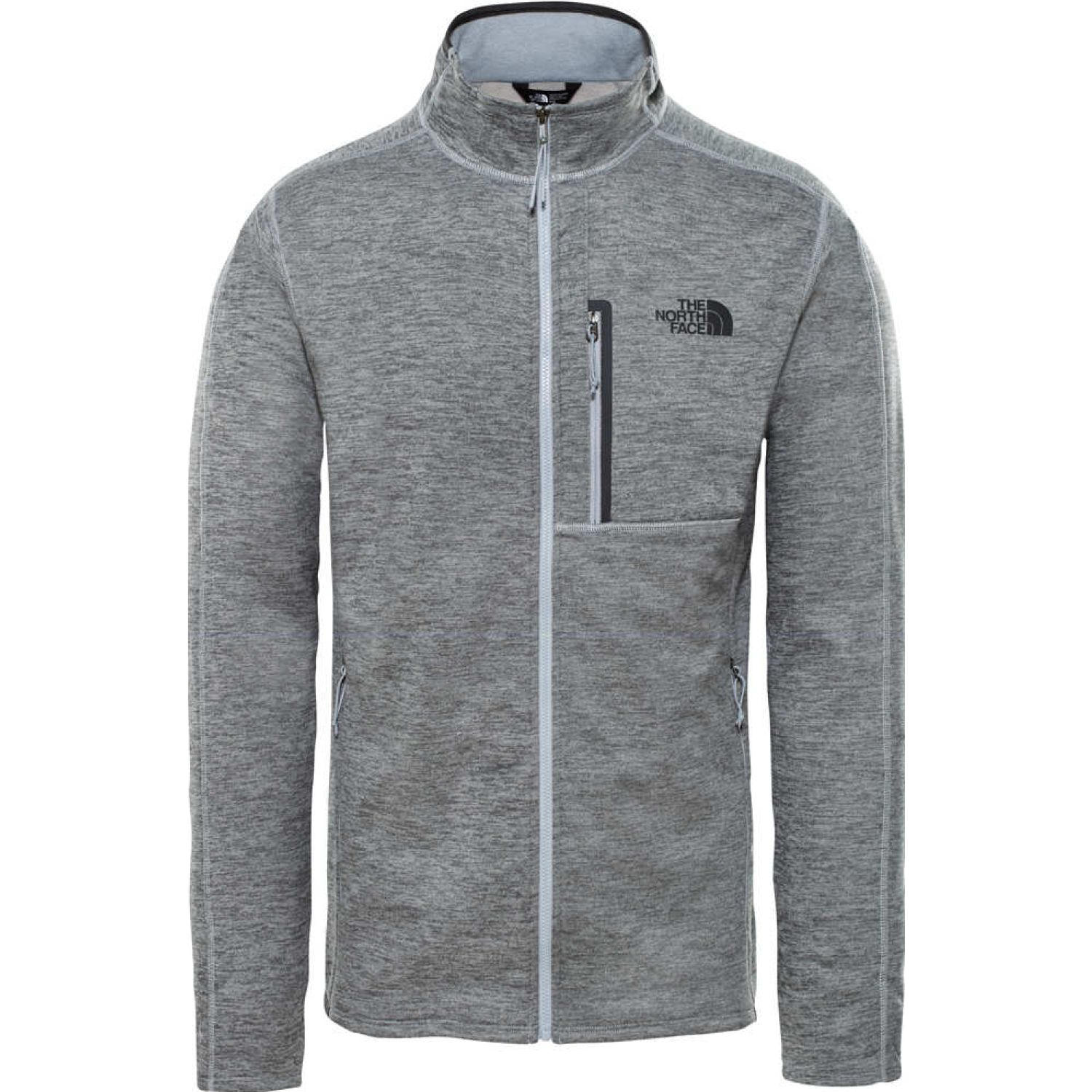 The North Face m canyonlands full zip Gris Pullovers