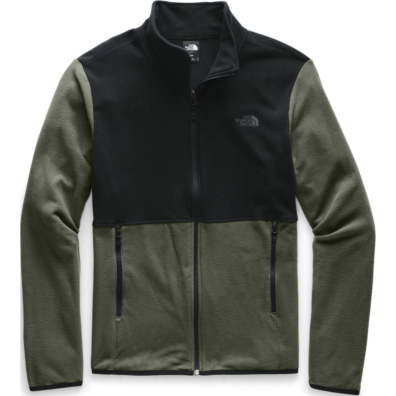 The North Face M Tka Glacier Full Zip Jacket Olivo / negro Pullovers