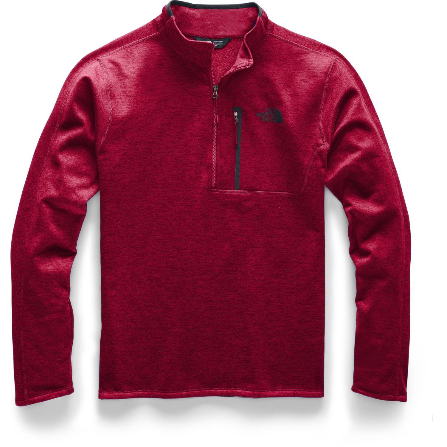 The North Face M Canyonlands 1/2 Zip Rojo Jerseys