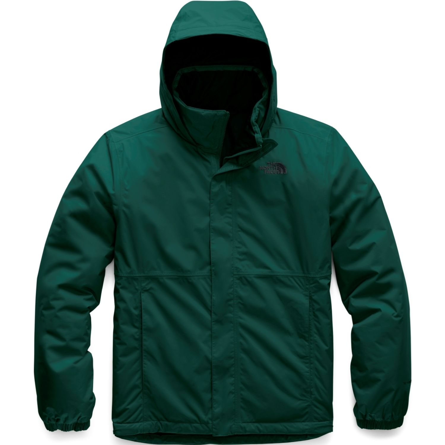 The North Face m resolve insulated jacket Verde Impermeables y chaquetas