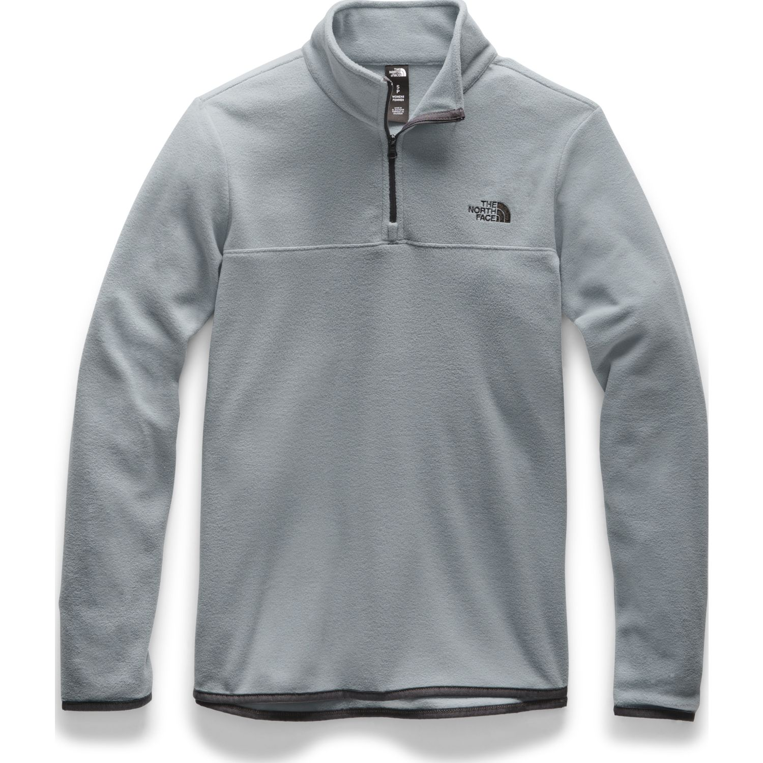 The North Face W Tka Glacier 1/4 Zip Gris Pullovers