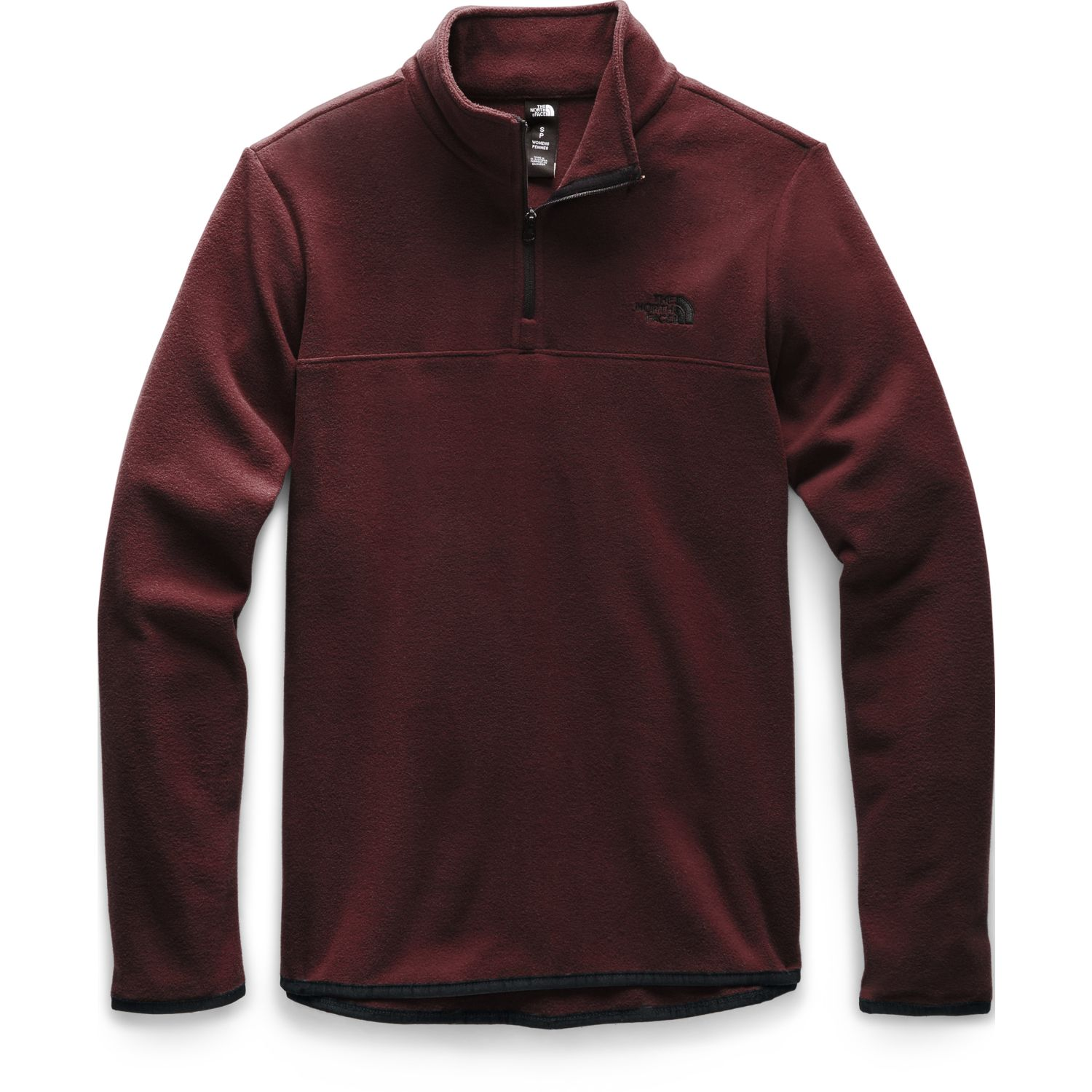 The North Face w tka glacier 1/4 zip Vino Pullovers