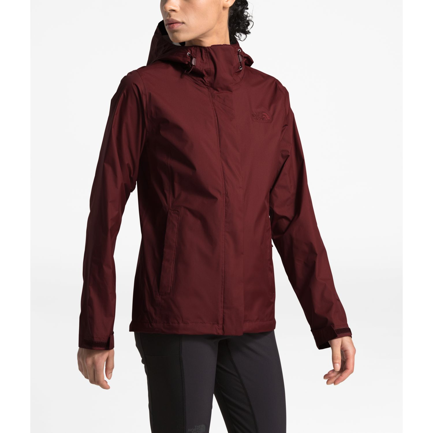 The North Face W Venture 2 Jacket Vino Impermeables y chaquetas