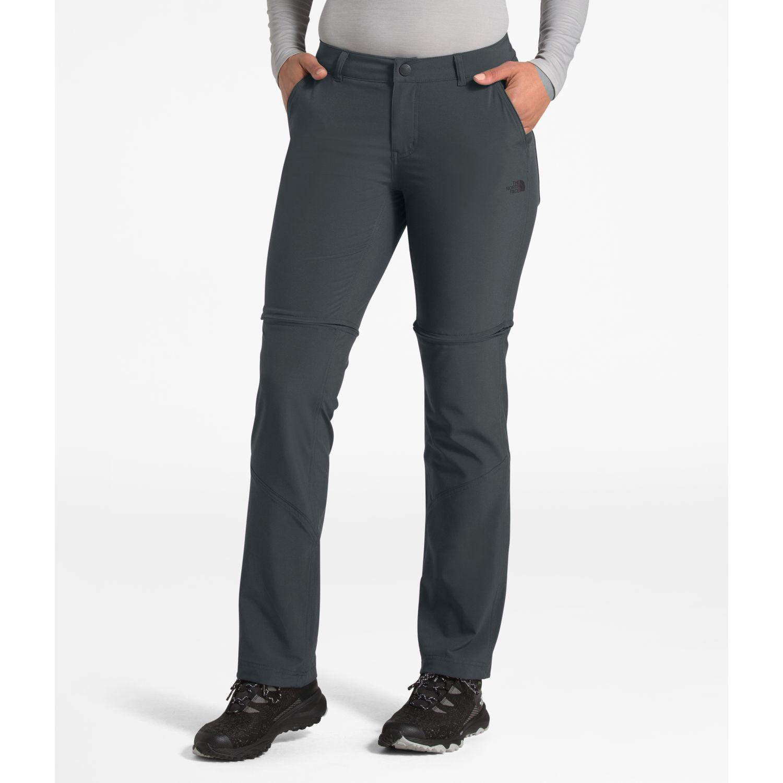 The North Face W Paramount Convertible Pant Plomo Pantalones deportivos