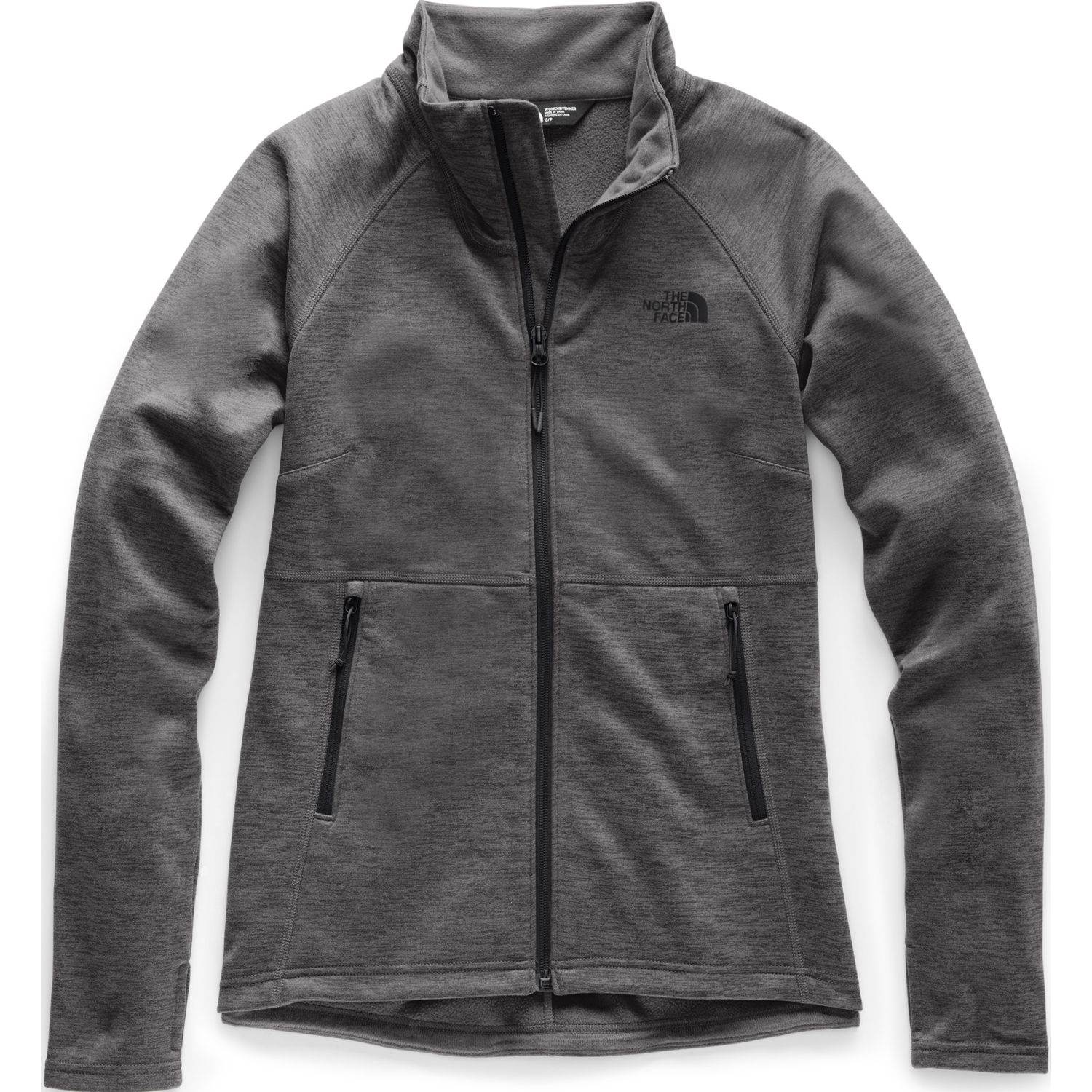 The North Face w canyonlands full zip Gris Pullovers