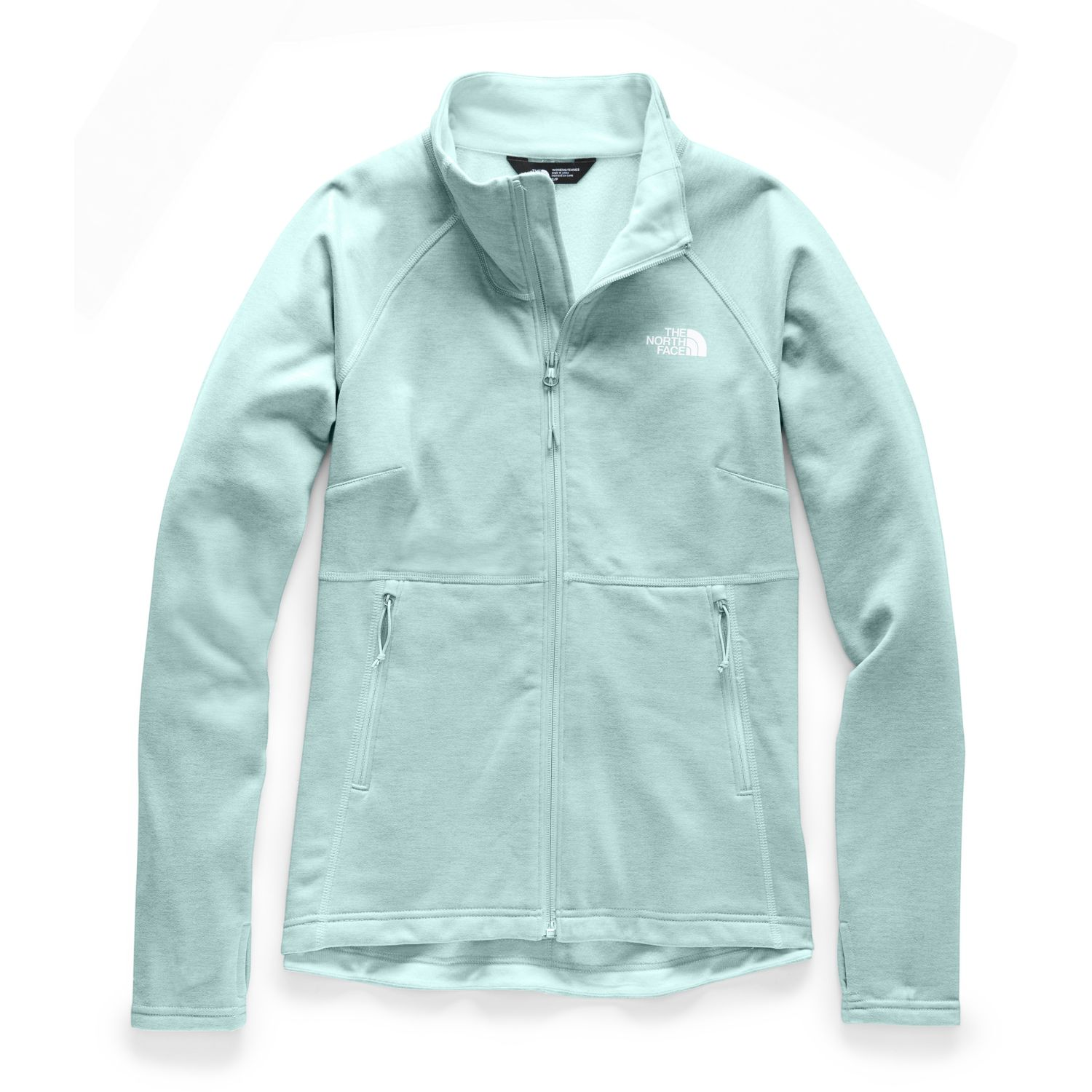The North Face W CANYONLANDS FULL ZIP Aqua Pullovers