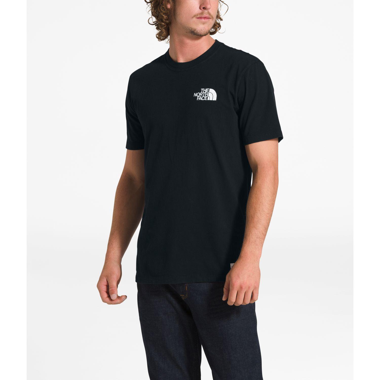The North Face m s/s sun plague tee Negro Camisetas y Polos Deportivos