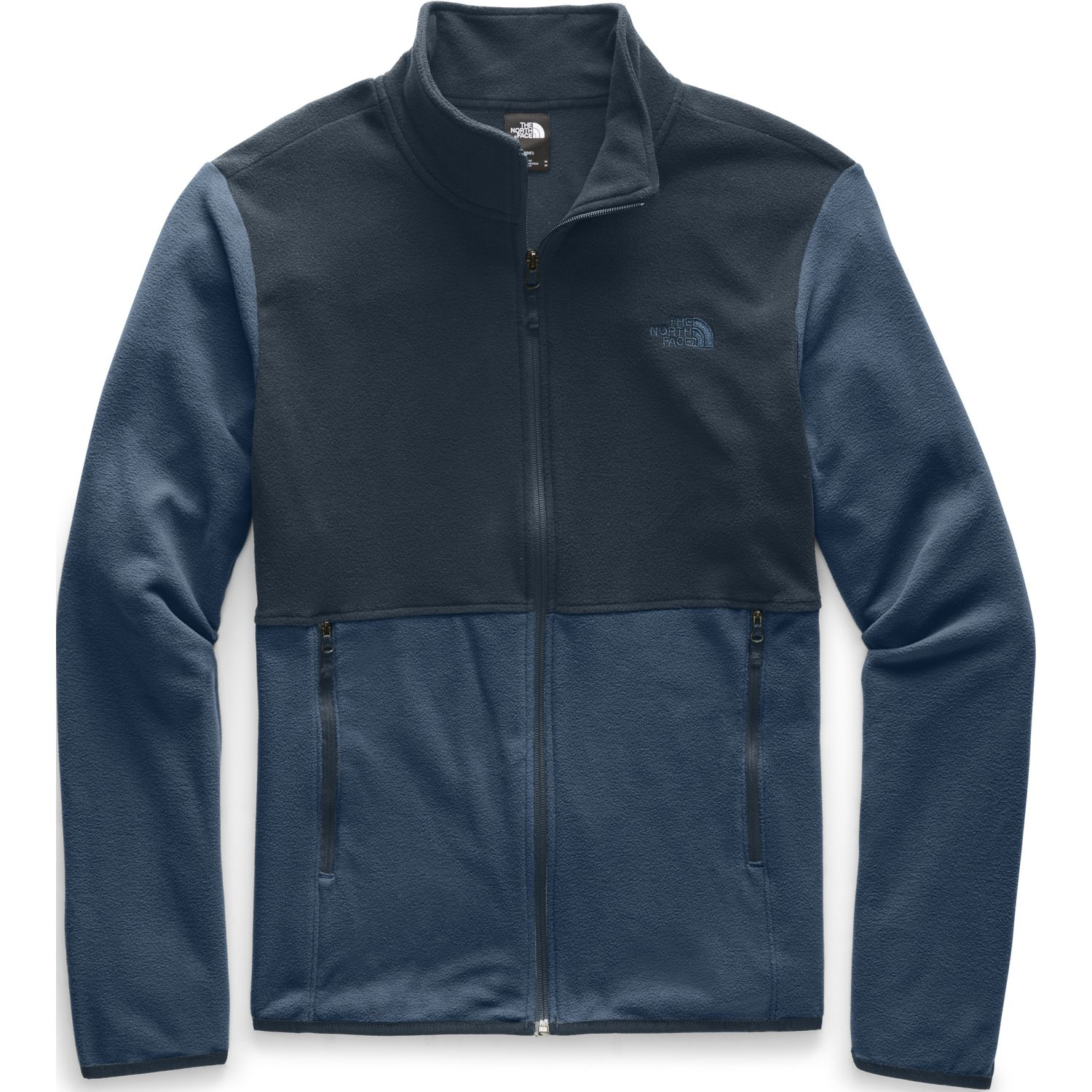 The North Face M TKA GLACIER FULL ZIP JACKET Navy Pullovers