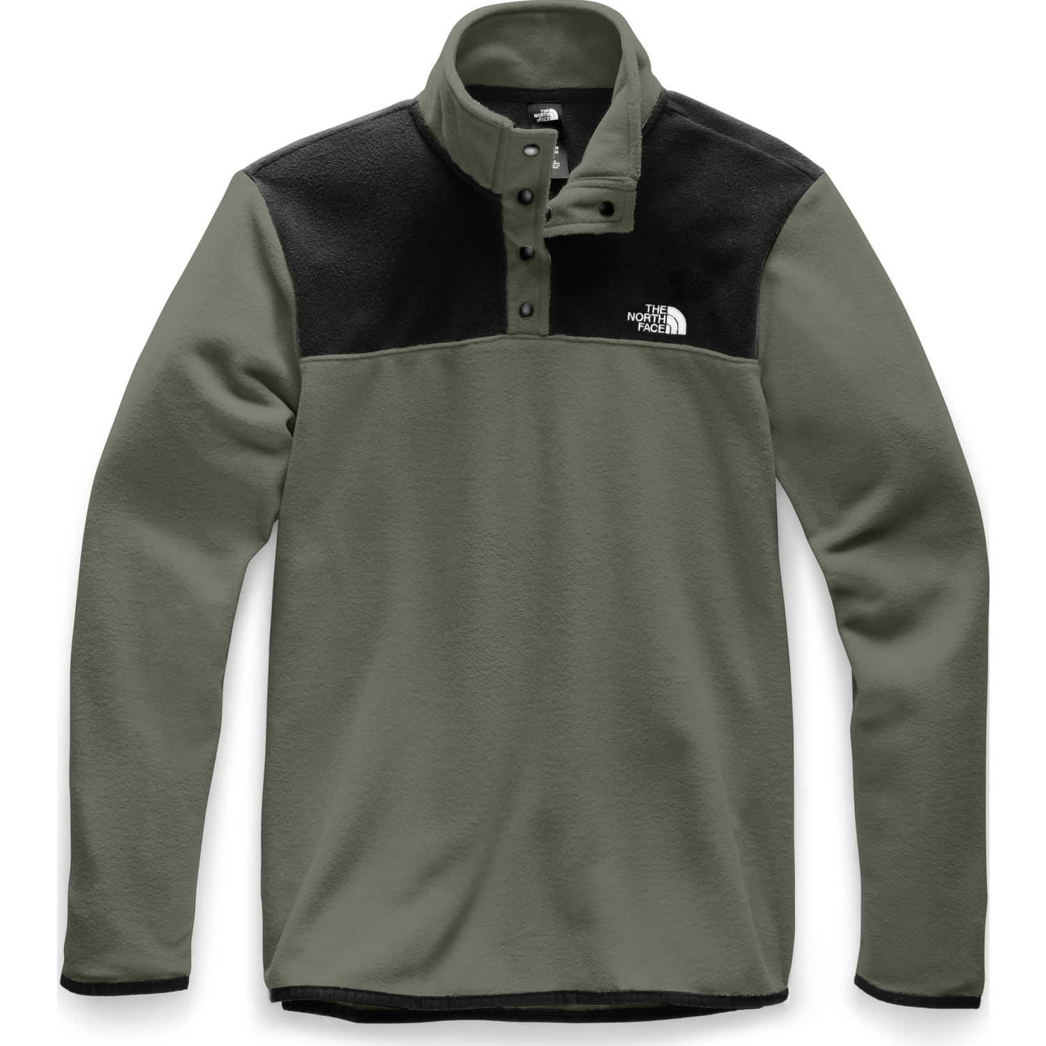 The North Face m tka glacier 1/4 zip Olivo / negro Pullovers