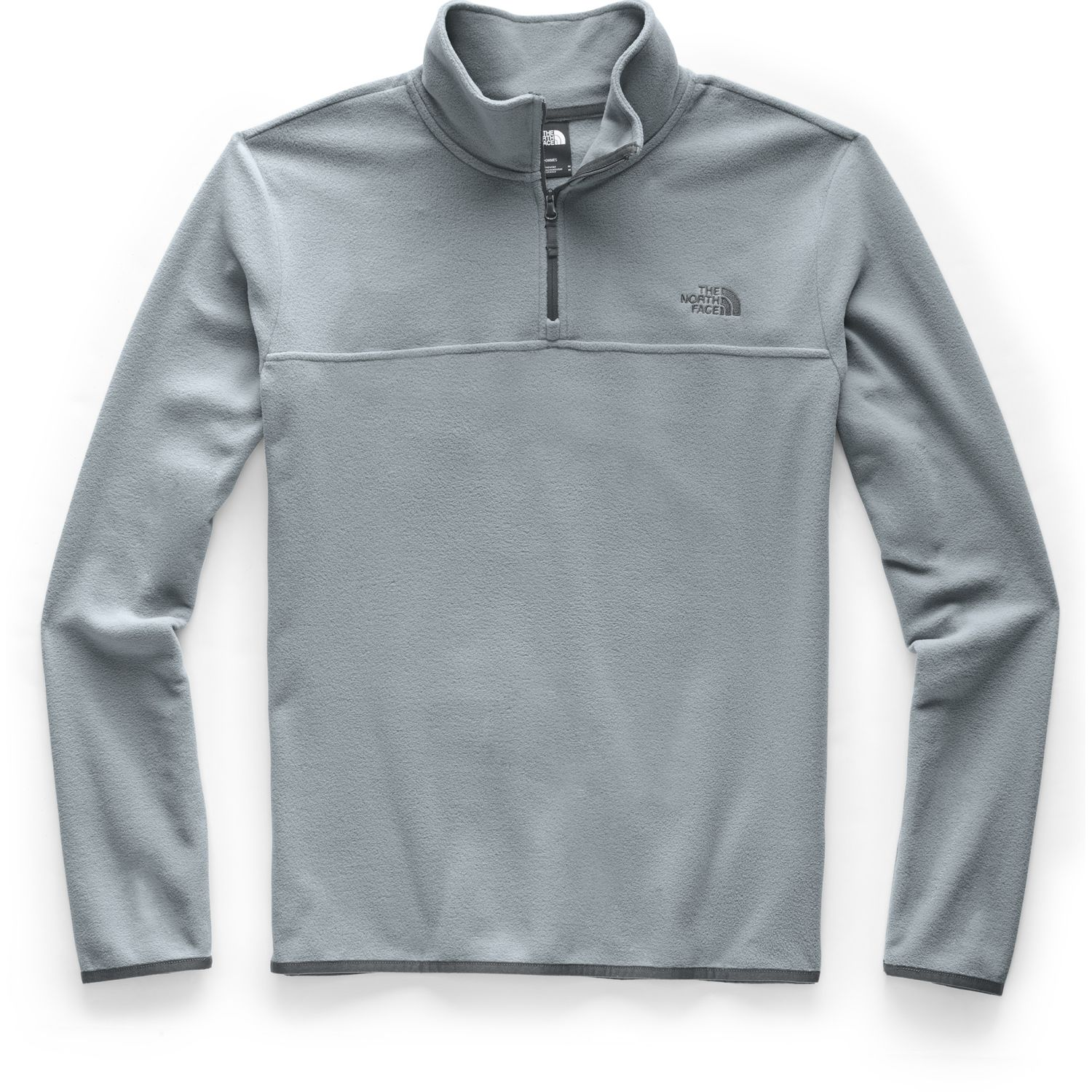 The North Face M TKA GLACIER 1/4 ZIP Gris Pullovers