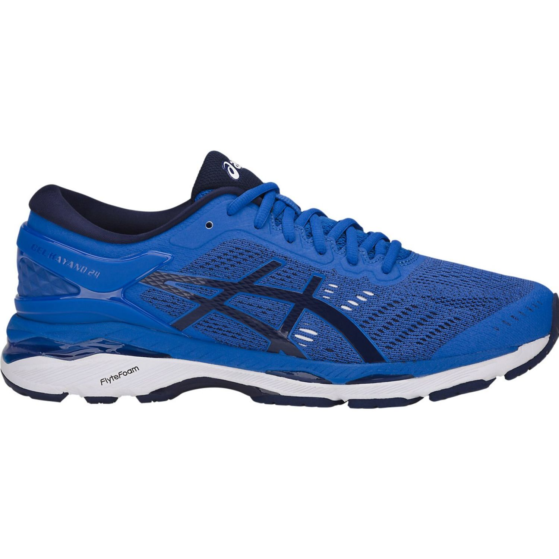 Asics gel kayano 24 vct blue ind blue wh Azulino Running en pista