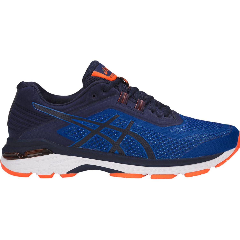 Asics gt 2000 6 imprl ind blue orang Azul / naranja Running en pista