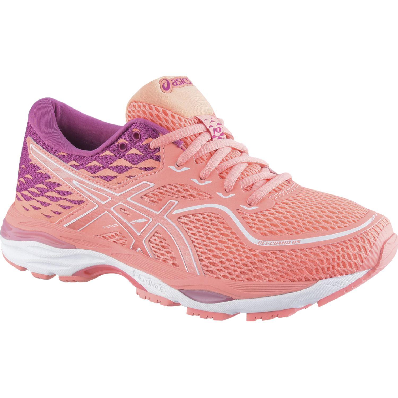 Asics gel cumulus 19 beg pink beg pink ro Rosado Running en pista